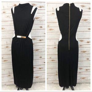 NWT ASOS Tall Cut Out Midi Dress Sz 8 ::S18